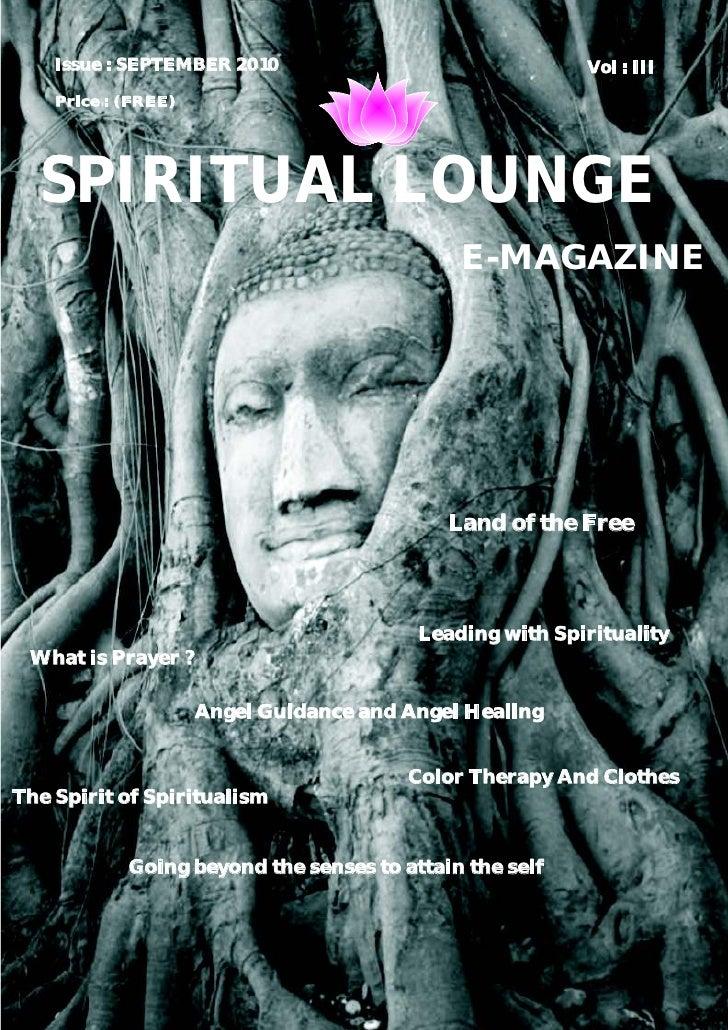 Spiritual Lounge E-Mag Sept