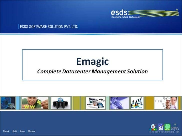 eMagic- Datacenter Management Solution