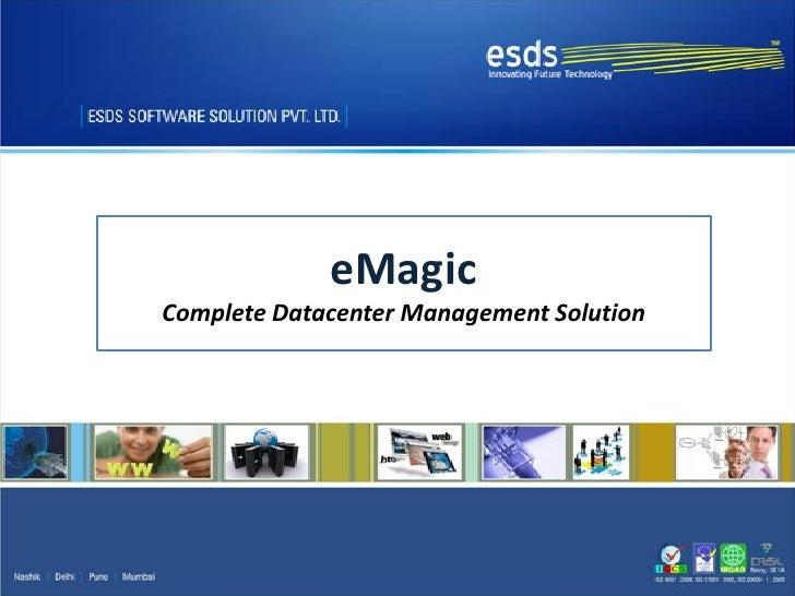 eMagicComplete Datacenter Management Solution