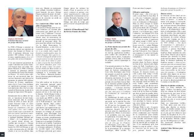2726 Stéphane RICHARD Président-Directeur Général du groupe ORANGE. Le PDG d'Orange a annoncé au printemps dernier son int...
