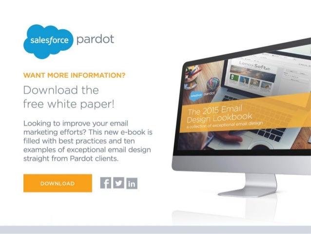 salesƒorce pa TClOt  WANT MORE INFORMATION?   Download the free white paper!   Looking to improve your email marketing eff...