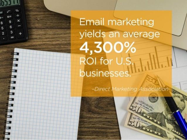 9 Fascinating Email Marketing Stats Slide 2
