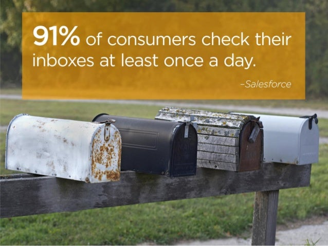 9 Fascinating Email Marketing Stats Slide 3