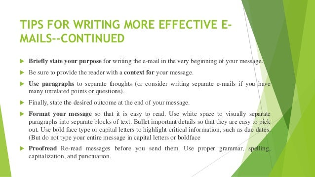 Email writing 15 tips for writing spiritdancerdesigns Image collections