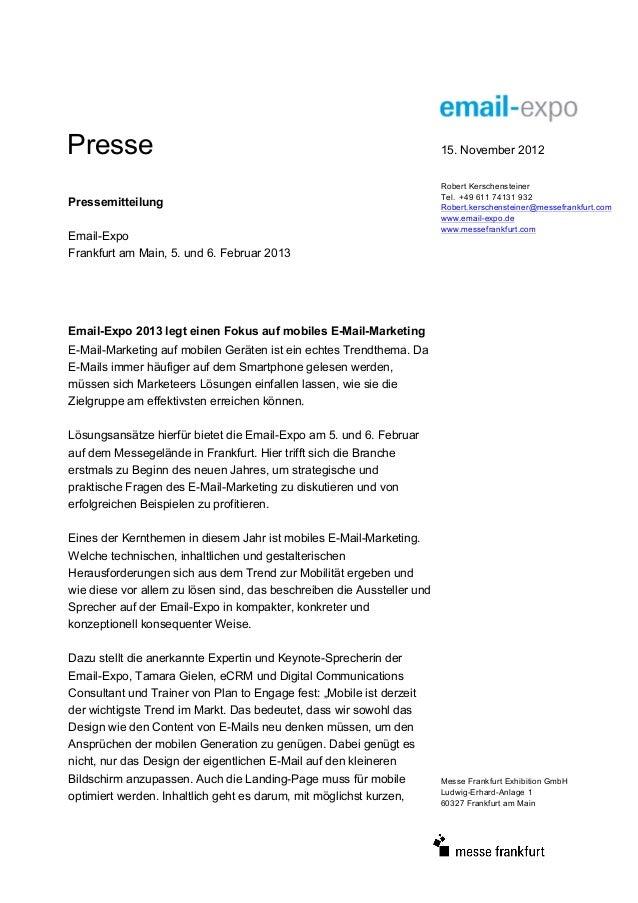 Presse                                                                  15. November 2012                                 ...