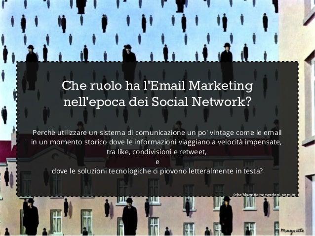 Email Marketing: dati e statistiche Slide 2