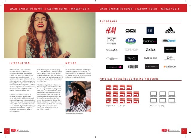 Advertising and fashion retailing project report