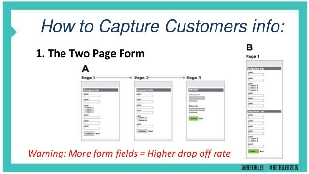 How to Capture Customers info: 4. Analysing Click Paths and Transactions Warning: Your buyer might be shopping for someone...
