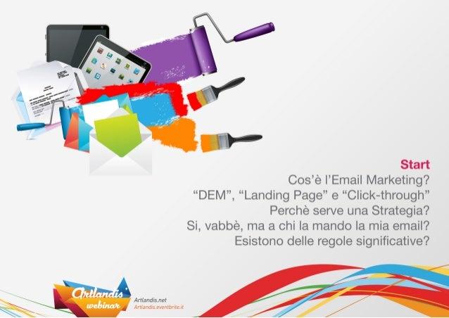 Email Marketing & Landing Pages Slide 2