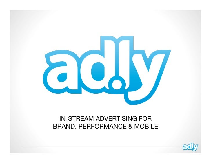 Ad.ly Introduction