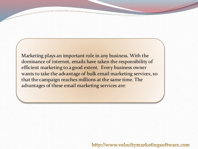 Email Blast Software-The Latest Marketing Tool