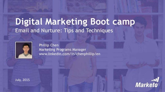 Digital Marketing Bootcamp - Email and Nurture: Tips and Techniques