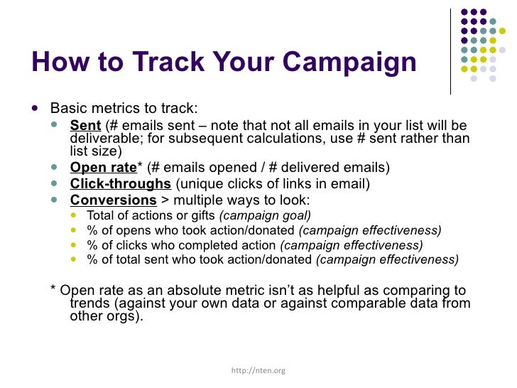 Nonprofit Email Campaigns Anatomy 101