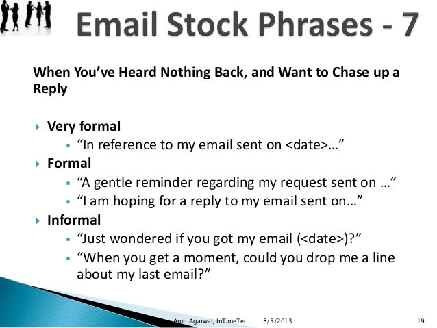 how to ask for a reply in a formal email