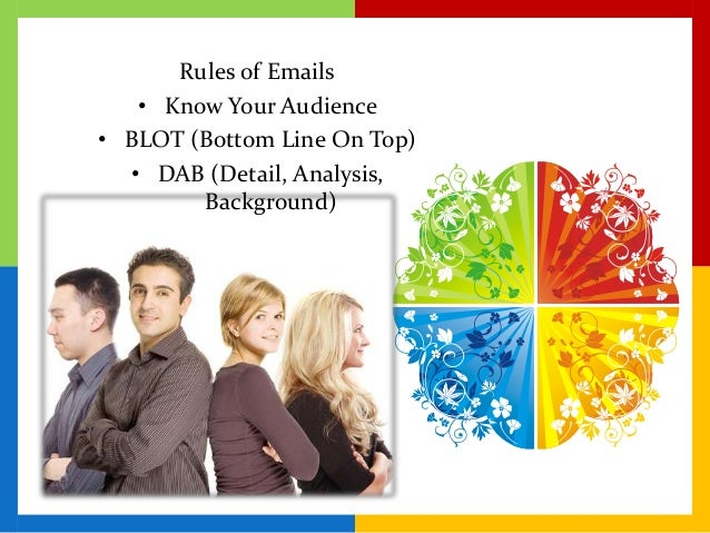 writing effective emails for a diverse audience Advises english language teaching professionals on how to write effective convention presentation proposals  audience for this piece of writing are the members of .