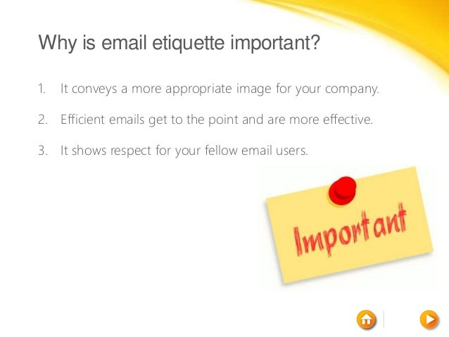 how to use email etiquette