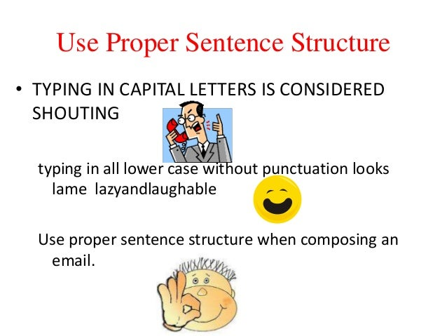Capital Letters In Emails Etiquette