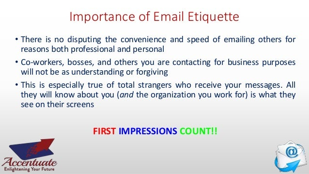 understanding email etiquatte Understanding email etiquette in the workplace .