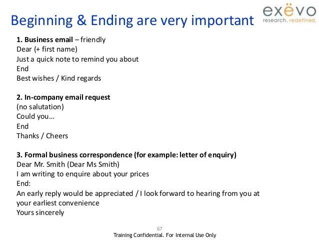 Email Etiquette 1 2