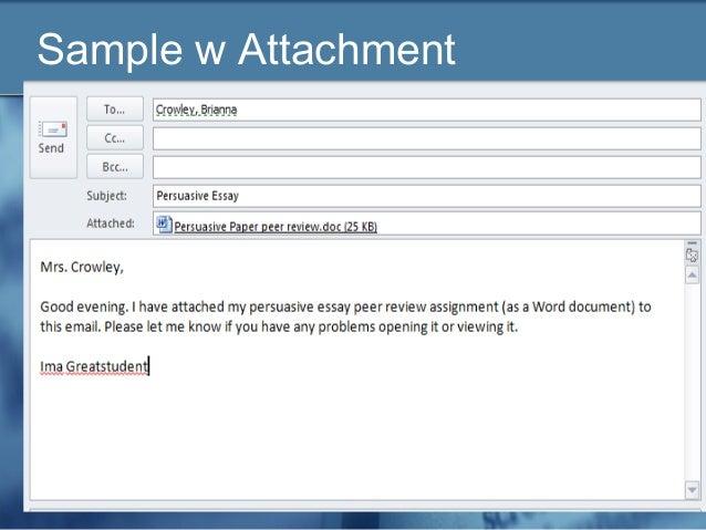 Email Etiquette for HS Freshman