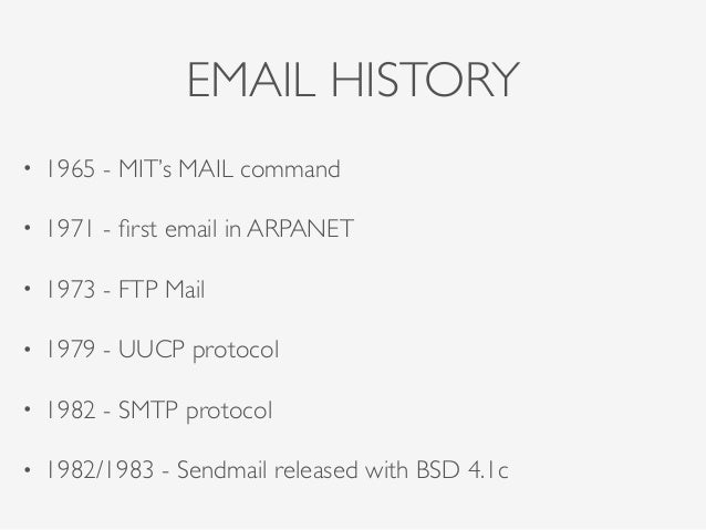EMAIL: From the past to nowadays - Oleksandr Simonov  (ENG) | Ruby Meditation 27 Slide 3