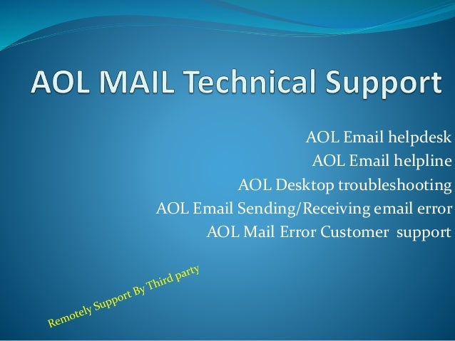 AOL Email Helpdesk ...