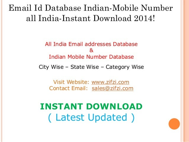 India Mobile Tracker