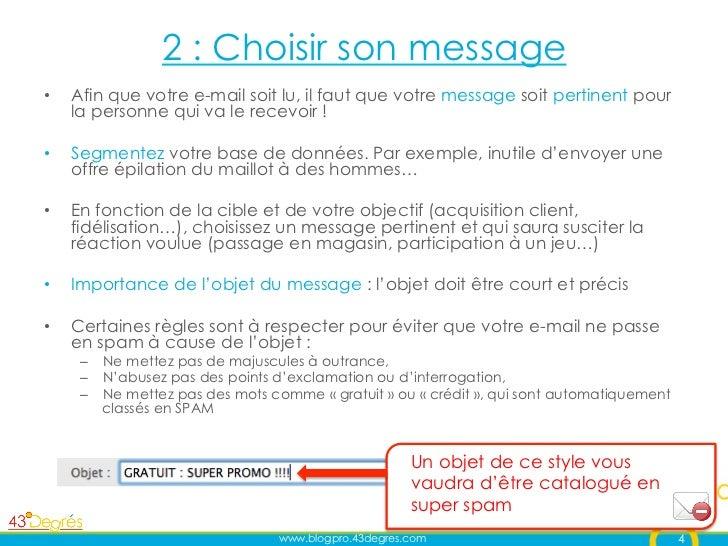 Cr er une campagne d 39 e mailing efficace - Ne plus recevoir de coup de telephone publicitaire ...