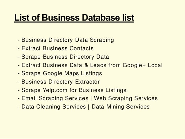 Email List of Manufacturing and Industrial Companies / Europe