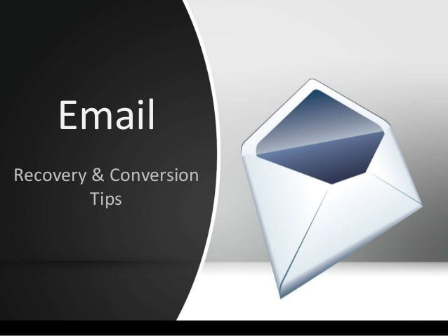 Email Recovery & Conversion Tips