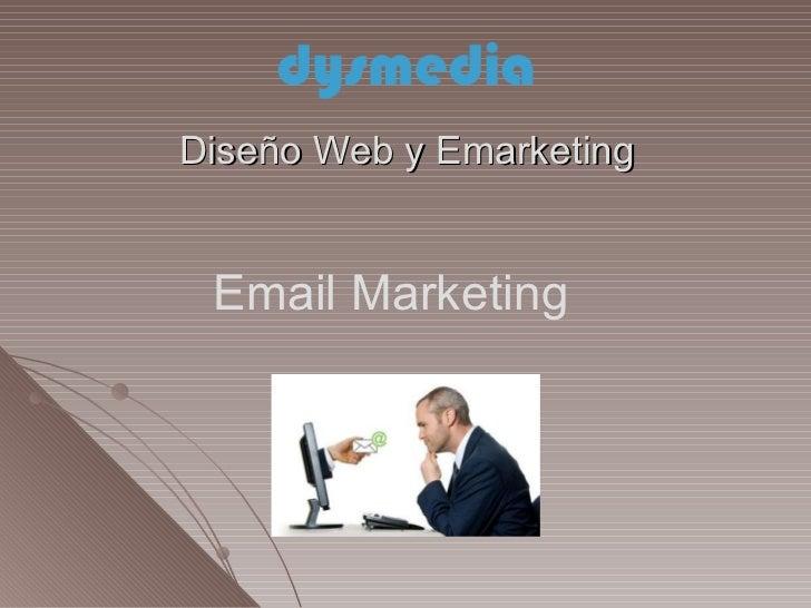 Diseño Web y Emarketing Email Marketing