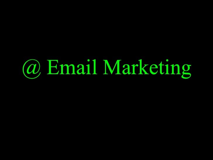@ Email Marketing