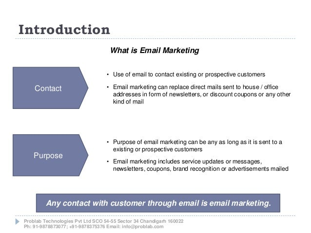 Email Marketing Services in Chandigarh