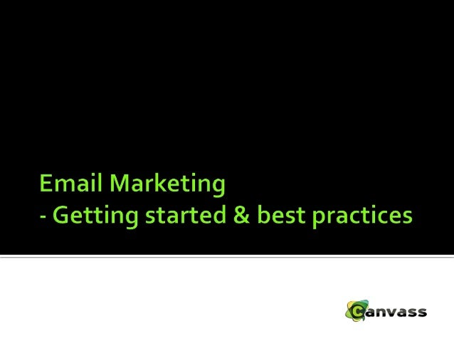  What is Email marketing & why should I adopt it?  What happens to an email when you click SEND  Email Marketing – Gett...