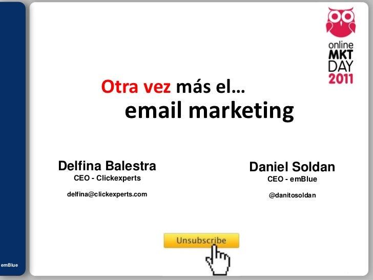 Julián M. Drault                                Otra vez más el…                                       email marketing    ...