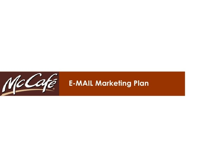 E-MAIL Marketing Plan