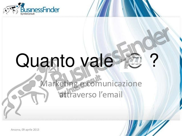 Quanto vale                                       ?                         Marketing e comunicazione                     ...