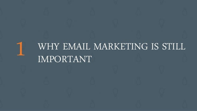 Class 1: Email Marketing Certification course: Email Marketing and Your Business Slide 2