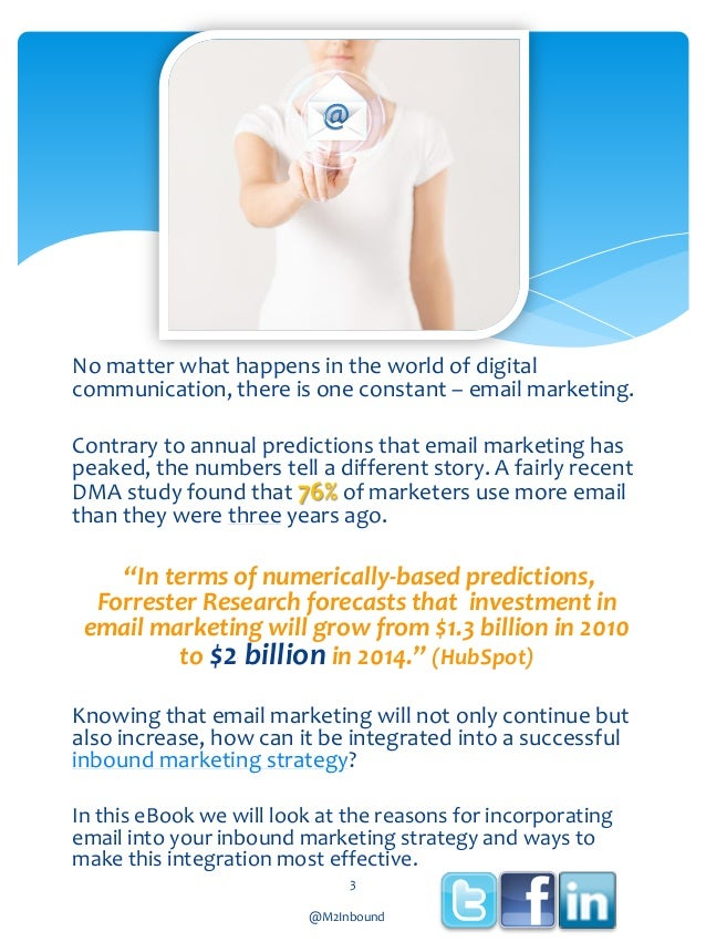 No matter what happens in the world of digital communication, there is one constant – email marketing. Contrary to annual ...