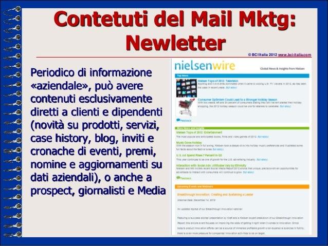 E mail marketing in italia e per gli italiani capitolo 2 for Email senatori italiani