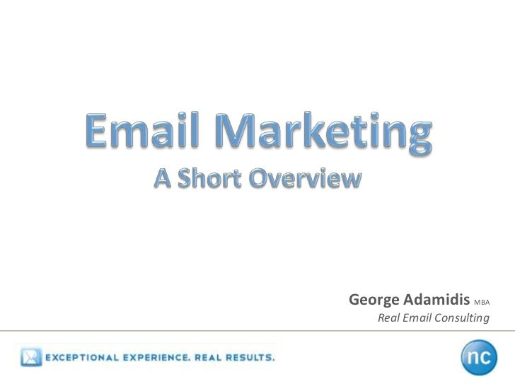 George Adamidis MBA   Real Email Consulting