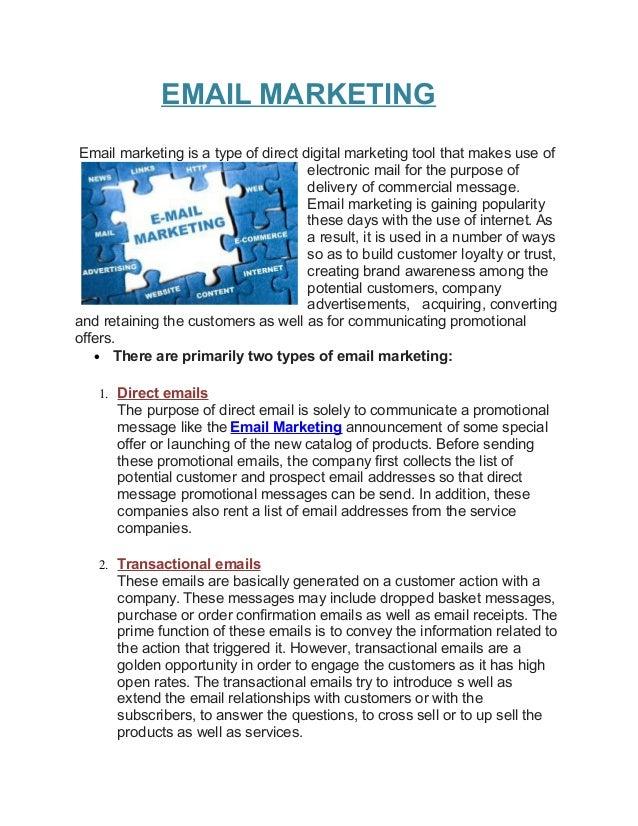 Emailmarketing pdf