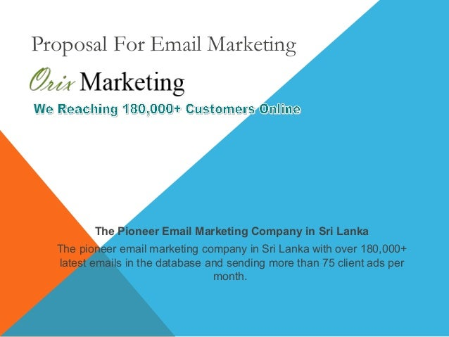 email proposal template