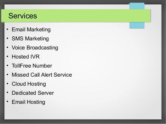 Email marketing services provider in india - sarv Slide 2