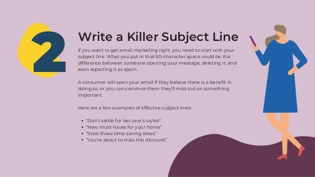 Email Marketing Tips 2021 Slide 3