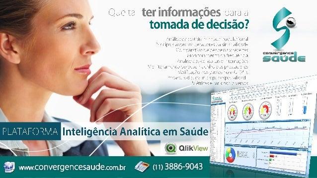 Plataforma Inteligência Analítica em Saúde para Planos