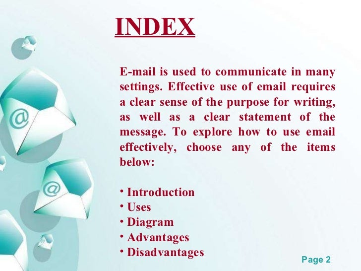 Email ppt