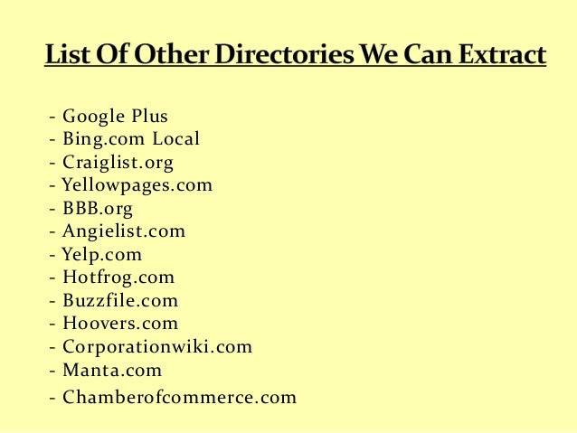 Email Searching Services - CEO, VP, MP, President's Emails