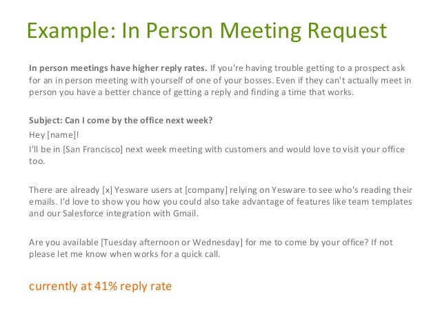 how to ask for meeting time