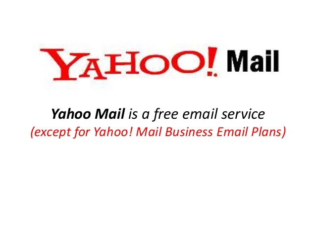 Yahoomail - an Email Service Provider